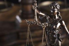 Тема закона Стоковое Изображение RF