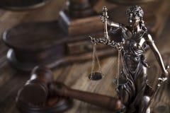 Тема закона Стоковое фото RF