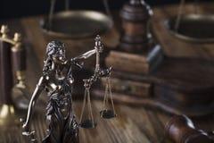 Тема закона Стоковая Фотография