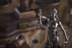 Тема закона Стоковые Фотографии RF