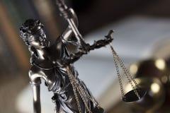 Тема зала судебных заседаний Стоковые Фотографии RF