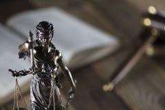 Тема зала судебных заседаний Стоковая Фотография