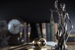 Тема зала судебных заседаний Стоковое Изображение