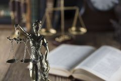 Тема зала судебных заседаний Стоковая Фотография RF