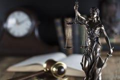 Тема зала судебных заседаний Стоковые Изображения RF