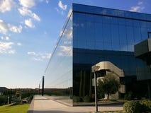 тема иллюстрации делового центра зодчества Стоковое фото RF