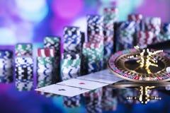 Тема казино Стоковые Фотографии RF