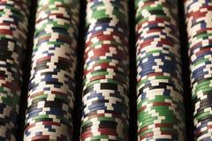 Тема казино Стоковое Изображение RF