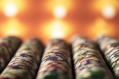 Тема казино Стоковые Изображения RF
