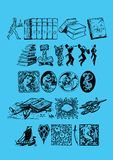 тема книги Стоковые Изображения