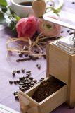 тема кофе Стоковые Фотографии RF