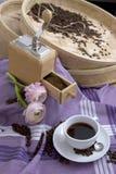 тема кофе Стоковая Фотография RF