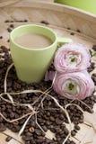 тема кофе Стоковая Фотография
