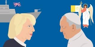 Тема мировых лидеров бесплатная иллюстрация