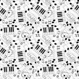 Тема музыки Стоковые Фото