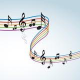Тема музыки Стоковые Изображения