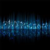 Тема музыки Стоковое Изображение RF