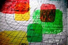 тема навигации коллажа Стоковое Изображение