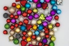 тема предпосылки рождества пестроткано Стоковая Фотография RF
