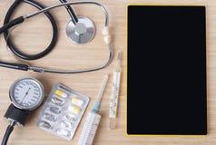 Тема предпосылки медицинская Стоковые Изображения