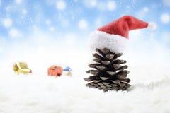 тема предпосылки рождества Стоковое Изображение RF