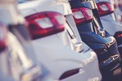 Тема продаж автомобиля автомобильная Стоковая Фотография