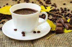 тема разрешения изображения цветка кофе высокая Стоковая Фотография RF
