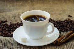 тема разрешения изображения цветка кофе высокая Стоковое фото RF