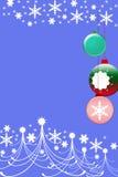 тема рождества Иллюстрация вектора