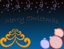тема рождества Бесплатная Иллюстрация