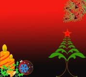 тема рождества Иллюстрация штока