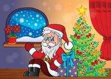 Тема 3 рождества крытая Стоковые Изображения