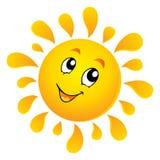 тема солнца 3 изображений Стоковое фото RF
