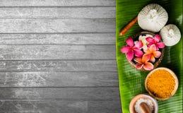 тема спы frangipani цветка шара Стоковое Изображение RF
