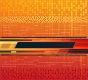 тема технологии предпосылки иллюстрация вектора