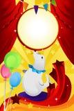 тема цирка Стоковое Изображение RF