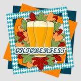 Тема Oktoberfest Стоковое Фото