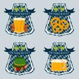 Тема Oktoberfest Стоковые Изображения RF