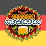 Тема Oktoberfest Стоковые Изображения
