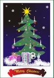 тема santa клоуна рождества Стоковые Изображения