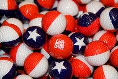 тема texas golfballs Стоковое Изображение RF