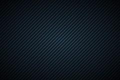 Темная абстрактная предпосылка с голубыми и черными наклоняя линиями Стоковые Изображения