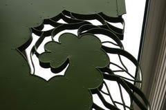Темная ая-зелен абстрактная картина цветка Стоковое Изображение RF