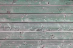Темная ая-зелен деревянная текстура предпосылки Стоковое фото RF