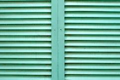 Темная ая-зелен деревянная предпосылка текстуры Стоковое Фото