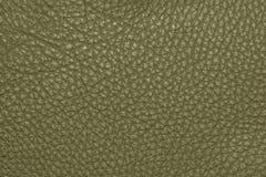 Темная ая-зелен кожаная grained картина предпосылки текстуры Стоковые Фотографии RF