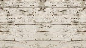 Темная белая безшовная деревянная текстура Стоковое Изображение