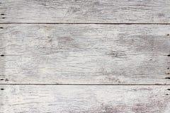 Темная белая древесина текстурированная для предпосылки Стоковая Фотография RF