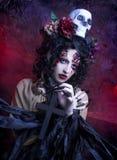 Темная ведьма стоковые изображения