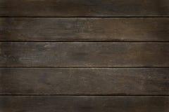 Темная винтажная деревянная предпосылка виньетки Стоковые Фото